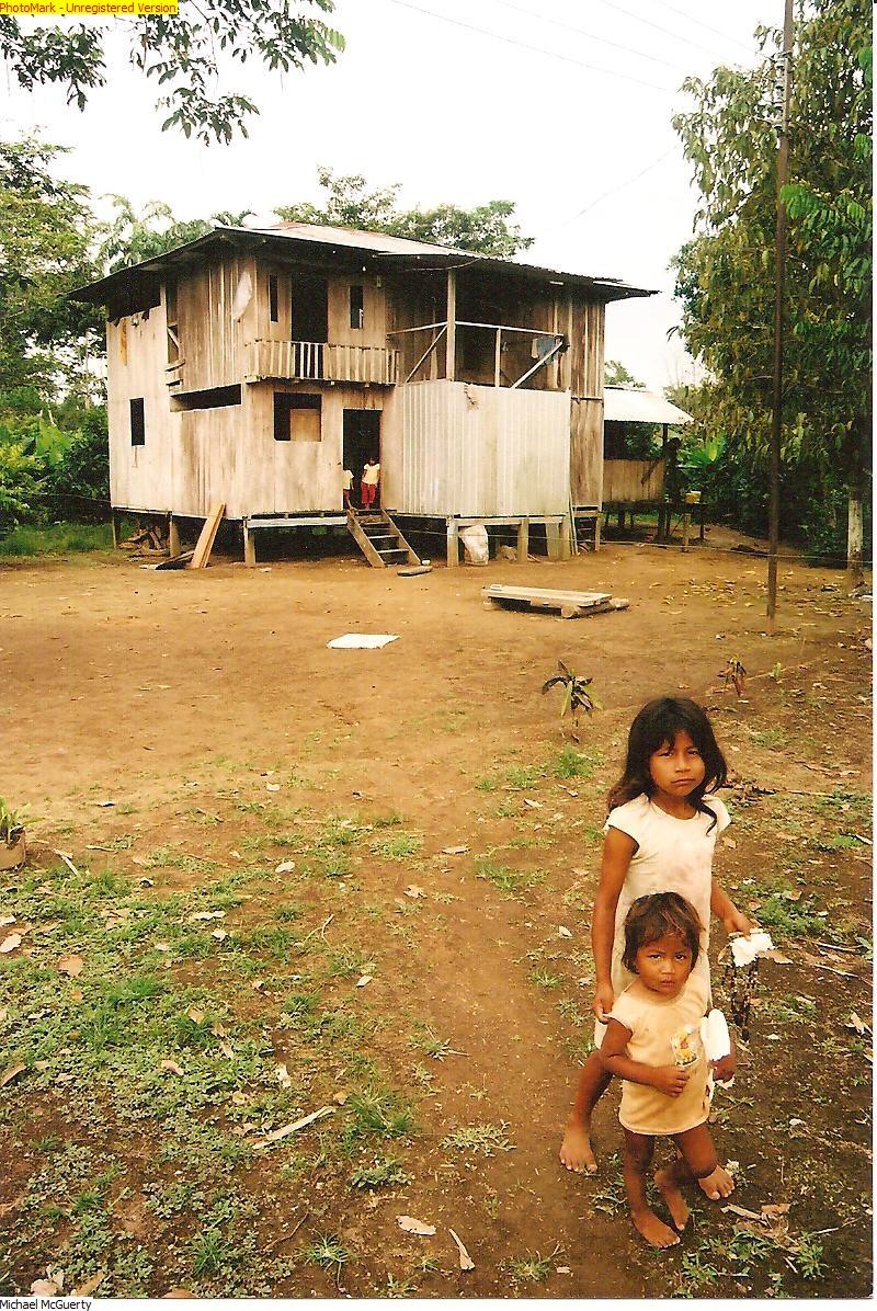 Siona Tribe Chilldren - Ecuadorian Amazon, Ecuador