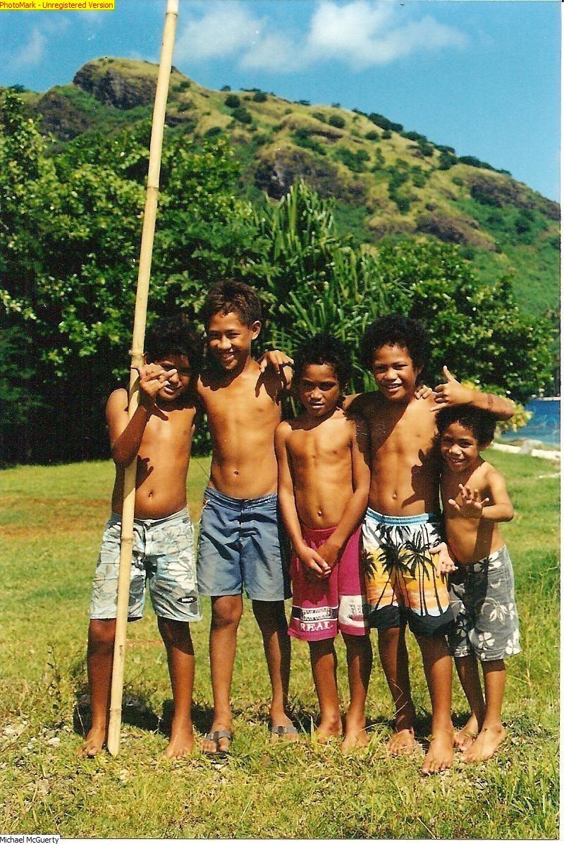 Tahitian Boys - Tahiti